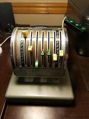 Vintage Antique The Paymaster Series S-550 Check writer