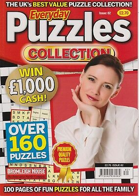Everyday Puzzles Collection #82  NEW PUZZLE BOOK (Free 1st class post U.K.)