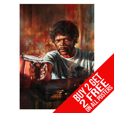 Pulp Fiction Poster Photo Picture Print A4 A3 Size - Buy 2 Get Any 2 Free