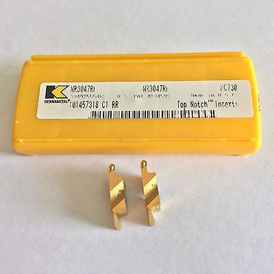 KENNAMETAL  NR3047RK GROOVE Inserts as shown