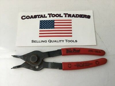 Blue Point Tools USA PR-32A Snap Ring Retaining Pliers Soft Grip #E47