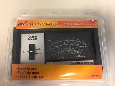 Actron CP7605 Dwell/Tach/Voltmeter In Original Packaging