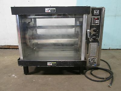 """b K I"" Heavy Duty Commercial Counter Top Electric Rib / Chicken Rotisserie Oven"