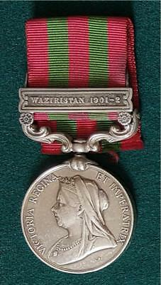 Indian General Service Medal 1895, clasp Waziristan 1901-2