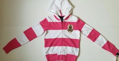 Nwt Polo Ralph Lauren Girls  Full Zip Hoodie Xl(16) #40