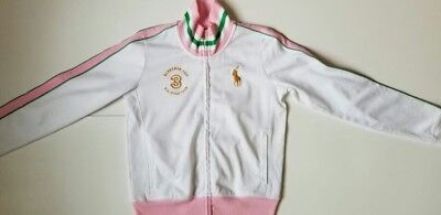 Nwt Polo Ralph Lauren Girls Jacket Zip  Xl(16) #40