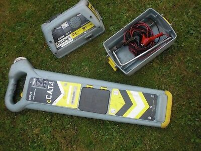 Radiodetection e Cat4 + Cable Avoiding Genny spx Cat 4 Plus cable locator e g 3