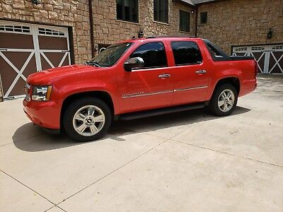 2010 Chevrolet Avalanche LTZ 2010 CHEVROLET AVALANCHE LTZ RED - LOADED - TOW PACKAGE - CRYPTOCURRENCY OKAY