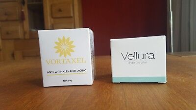 Vellura  Under Eye Lifter 30 ml & Vortaxel Anti-Wrinkle-Anti-Aging 50 g NEU