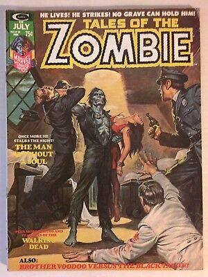Tales of the ZOMBIE #6 (July, 1974) Marvel Horror Earl Norem Cover