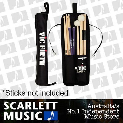 Vic Firth Essentials Stick & Mallet Bag - Holds 4-5 Sticks , Mallets & Brushes