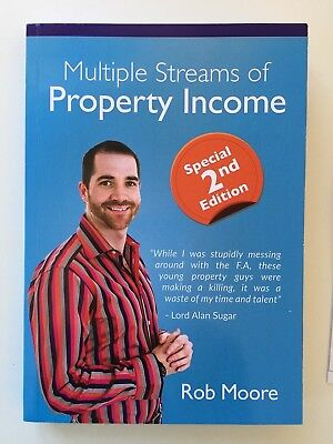 2nd EDITION... Multiple Streams of Property Income book - by Rob Moore