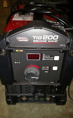 lincoln electric square wave 200 welder