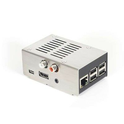 HiFiBerry Steel Case IV Silver for HiFiBerry DAC+ RCA