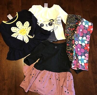 Lot Of 6 Baby Girls Clothing Items: 12-18 Months