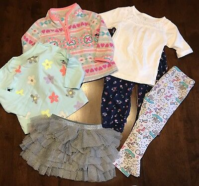 Lot Of 6 Baby Girls Clothing Items: 18 Months
