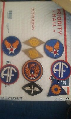 Original Ww2 Wwii U.s. Army Air Force Patches Usaaf U.s. Army Air Corps