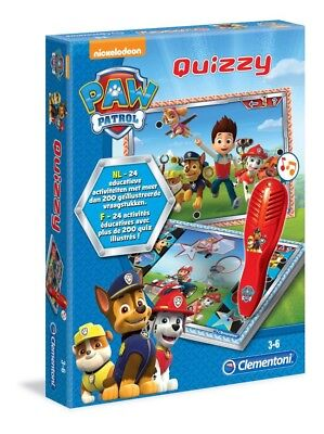 Paw Patrol Quizzy Clementoli Nl/fr  (New / Nieuw  In Package)