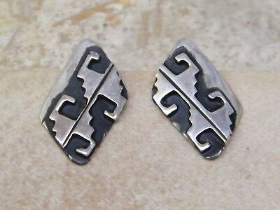 Tommy Rosita Singer Navajo Indian Sterling Silver Stormy
