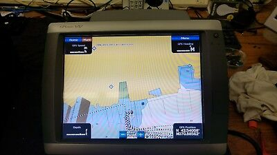 "Garmin Gpsmap 5212 12"" Color Gps Chart Plotter Mfd"
