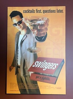"""Swingers Wood Mounted Movie Poster 40"""" X 27"""""""