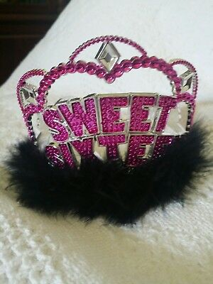 Sweet 16 party crown