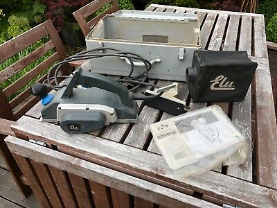 Cased Elu 110V Electric Planer 850W Plane model No.MFF81 - made in Italy