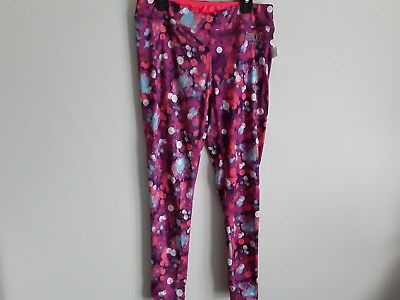 Girls leggings wicking brand Everlast sports New with tags multi color