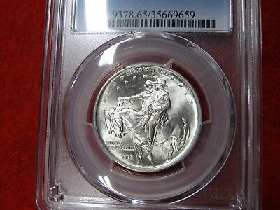 1925 Stone Mountain,PCGS MS65 , Total Gem BU, Very Minty, Don't Miss This One