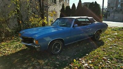 1972 Chevrolet Chevelle  chevelle ss 454 ls5 w code convertible