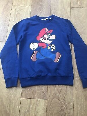Super Mario Light Sweatshirt Aged 12 - 14 Years