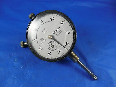 """Mitutoyo No. 2904S Dial Indicator .001 0-1"""" Machine Shop Inspection Tool"""
