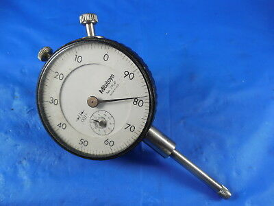 """Mitutoyo No. 2904F Dial Indicator .001 0-1"""" Machine Shop Inspection Tool"""