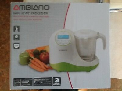 AMBIANO: BABY FOOD PROCESSOR … Brand New, Never Used, Never Opened