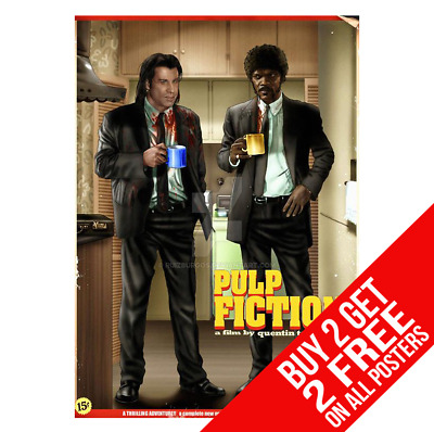 Pulp Fiction Poster Photo Wall Art Pic Print A4 A3 Size - Buy 2 Get Any 2 Free