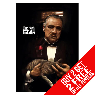 The Godfather Poster Photo Pic Print A4 A3 Size - Buy 2 Get Any 2 Free
