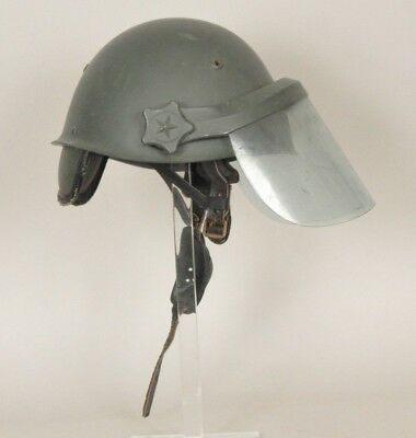 Italian Army /police  Riot Lid ,60/70,s M33 Style In Composite Fibre