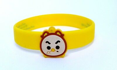 Disney Store Tsum Tsum 2016 Summer Play Days wrist band bracelets Cogsworth