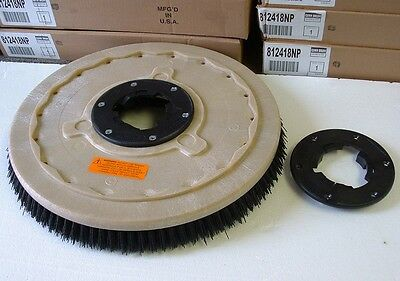 """Grit brush,  17"""" floor buffer.Replaces black pads & 1 FREE NP9200 plate"""
