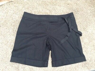 ladies tailored shorts Size 18 MONSOON