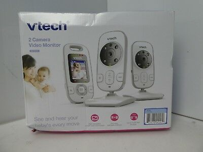 VTech BV73122BL Digital Video Baby Monitor with 2 Cameras