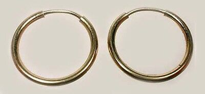 Quality USA Made 14ktGF 14mm Endless Hoop Ancient Egypt Sumerians Minoans Celts