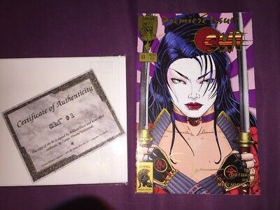 Shi #1 Premiere Issue Signed By Tuce Crusade Comics