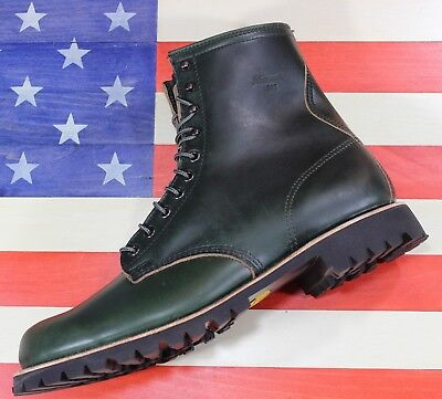 1fd4bc36be4 THOROGOOD 1892 TOMAHAWK Loden Green Horween Boots MADE In USA [814-7011]  size 13