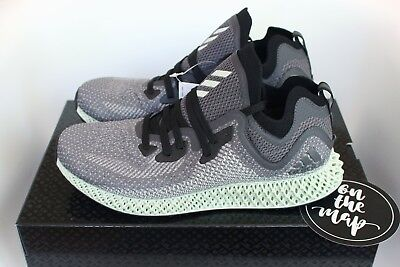ADIDAS ALPHAEDGE 4D Printed ASW Ash Grey Green Black UK 8.5