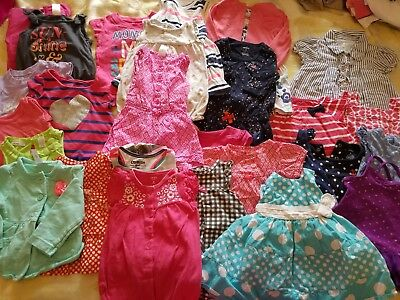 Summer outfits Girl 6-9 months Clothes Lot Adorable Spring/Summer 40 pcs  #54