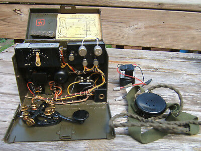 TG-5 B Signal Corps telegraph in working condition