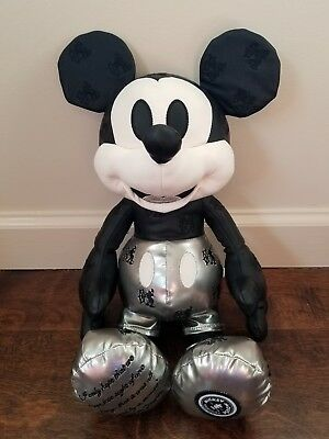 Disney Mickey Mouse Memories Steamboat Willie Plush - January Edition NWOT HTF