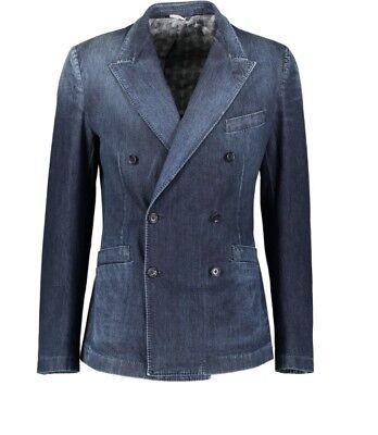 Dolce & Gabbana Denim Double Breasted Blazer UK38 (IT48). BNWT RRP £1480