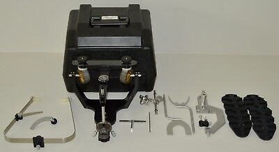 Hanau Wide Vue Semi-Adjustable Articulator + Facebow - Excellent Condition